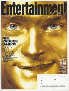 Neil Patrick Harris Entertainment Weekly Feb 2015 Oscar Preview SNL 40th Anniv