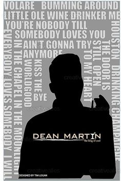 Create Artwork Inspired By Dean Martin Martin King, Dean Martin, Angie Dickinson, Mr Wonderful, Old Soul, Old Hollywood, Musicals, Love You, Classic