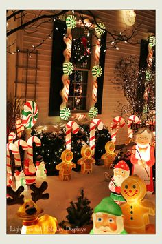 72 Best Gingerbread Decor Outdoor Images Diy Christmas