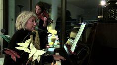 FROGGY'S DELIGHT sessions live Catherine Watine au piano Gaëlle Deblonde au violon