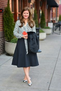 Office Style: The Midi Skirt + $400 Nordstrom Giveaway! | A Lily Love Affair