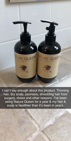 Can't say enough about this product. Thinning hair, dry scalp, psoriasis, shredding hair from surgery, stress and other reasons. I've been using Nature Queen for a year my hair scalp is healthier than it's been in years. Healthy Hair Tips, Healthy Hair Growth, Natural Hair Growth, Roger Vivier, Hair Scalp, Dry Scalp, Curly Hair Styles, Natural Hair Styles, Natural Beauty