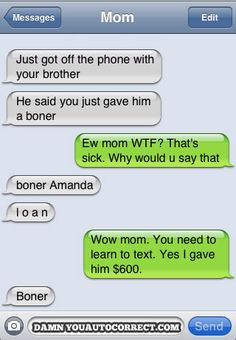funny auto-correct texts - 15 Most Popular Autocorrects From May 2011