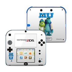 Nintendo 2DS Skin Mike and Sully by Monsters University