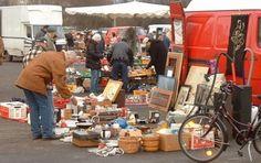 Loppemarked--kopenagdaki bir pazarlari