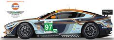 My Gulf Aston Martin Racing Car   Borja Sanz