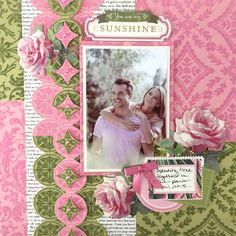 Anna Griffin Flocked Card Layers
