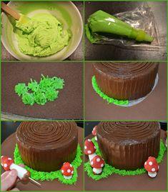 First Birthdays, Cupcakes, Sweet, Baby, Inspiration, Meet, Chocolate Ganache, Kitchens, Mushroom Cake