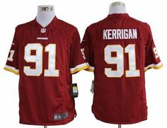 505a9cfd6  22 for Men s Nike Washington Redskins  91 Ryan Kerrigan Game Team Color  Jersey. Buy