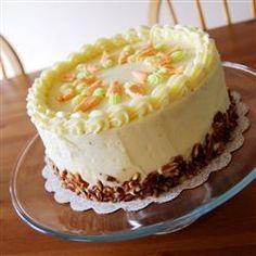 Sam's Famous Carrot Cake Allrecipes.com