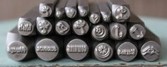 Brand New Supply Guy Metal Design Stamps - Choose from any of the 20 stamps listed - Various Sizes by TheSupplyGuy on Etsy
