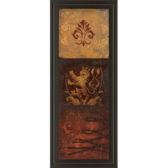 Found it at Wayfair - Regal Panel II by Avery Tillmon Framed Graphic Art