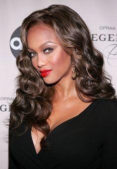 Tyra Banks #curls
