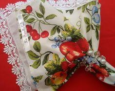 Guardanapo maçãs