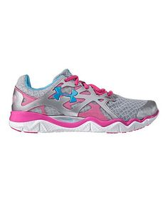 Loving this Metallic Silver Micro G® Monza Running Shoe on #zulily! #zulilyfinds