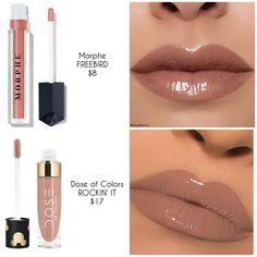 a colors lip gloss Lip Gloss Colors, Lipstick Colors, Lip Colors, Stil Inspiration, Makeup Inspiration, Beauty Dupes, Beauty Makeup, Makeup Inspo, Makeup Tips
