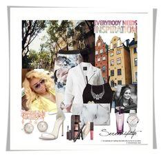 """Model Style"" by mell-2405 ❤ liked on Polyvore featuring Charlotte Olympia, Arizona, Blue Nile, Henri Bendel, Stuart Weitzman, 88 RUE DU RHONE, Lancôme and Laura Mercier"