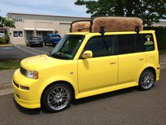 Saw this car in Oregon. Cool scion XB toaster.