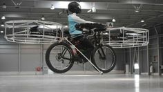 Check out my blog entry: Using the News in your classroom:  Flying Bicycle: Remember the scene from the 1982  movie E.T. the Extra-Terrestrial, when Elliott with E.T in his bicycle basket take flight? Scientists in the Czech Republic have developed a flying bicycle! Discussion questions included.