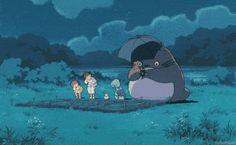 となりのトトロ My Neighbor Totoro Dir Hayao MIyazaki Girls Anime, Anime Couples Manga, Cute Anime Couples, Manga Girl, Studio Ghibli Art, Studio Ghibli Movies, Totoro Gif, Anime Gifs, My Neighbor Totoro