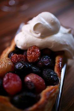Roasted Grape Tart | Not Without Salt