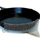#9: The Ringer Stainless Steel Chainmail Cast Iron Cleaner XL 86-Inch