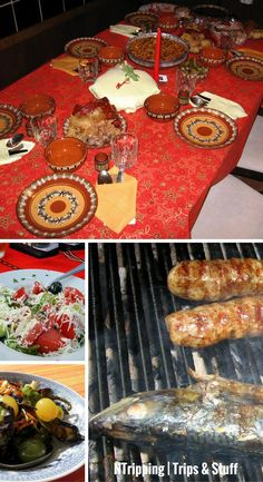 Learn everything about Bulgarian food: the best dishes, the secret ingredients, the tastiest drinks, the odd traditions and celebrations. Bulgarian Food, Bulgarian Recipes, Shopska Salad, Delicious Food, Tasty, Best Dishes, Chilis, Trout, Christmas Eve