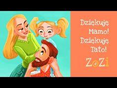 ZoZi - Dziękuję Mamo! Dziękuję Tato! (Dzień Matki/Dzień Ojca) - YouTube Disney Characters, Fictional Characters, Daddy, Family Guy, Kawaii, Youtube, Education, Short Stories, Songs