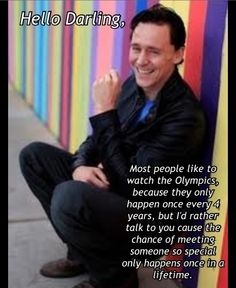 I seriously would be happy just being able to meet him once in my life <3