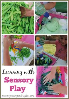 The importance of sensory play and why you should include it in your child's play activities everyday. Mummy Musings and Mayhem