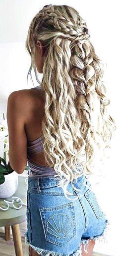 Prom Hairstyles For Long Hair Mesmerizing 65 Stunning Prom Hairstyles For Long Hair For 2018  Pinterest