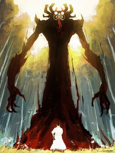 Aku by *SilverMender on deviantART