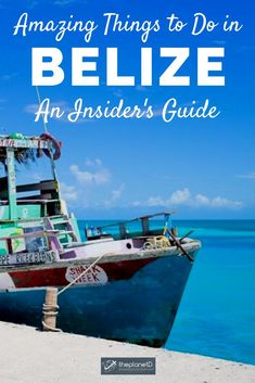 Belize is the perfect place for intrepid thrill-seekers and sun-seeking holidaymakers, alike. Explore this stunning and diverse place with an insider's guide to the very best things to do in Belize. | Blog by the Planet D #Travel #Belize | what to do in belize | things to do in belize | belize things to do in | travel to belize | belize vacation things to do | belize vacation | belize travel inspiration Belize Vacations, Belize Travel, Greatest Adventure, Adventure Awaits, Utah, Las Vegas, Arizona, Mayan Cities, Belize City