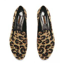 Slippers à sequins Louis Vuitton