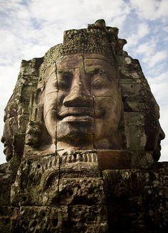 Peaceful Mood...    Angkor, Cambodia (by Eric Lafforgue)