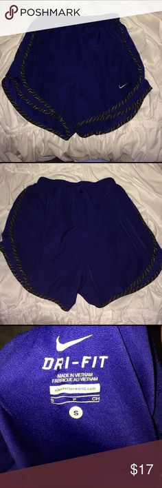 Nike Tempo Shorts Blue Nike Tempo running shorts size small. Worn a few times in great condition! Don't really have shirts to match this so I'm selling!! Nike Shorts