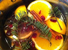 Make the house smell like Christmas with this easy to make stove top recipe that lasts for weeks!