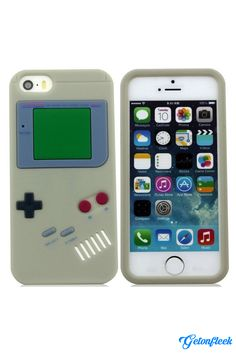 Gameboy 3D iPhone Case [iPhone 5, 5s, 6, 6 Plus] - Shop our entire collection with every color at www.getonfleek.com