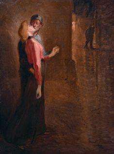 L'Idylle (1909) Theophile Steinlen
