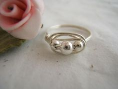 DIY ring-- ooh with pearls maybe? Multi- color pearls