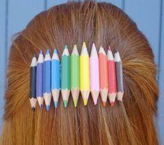 barrette a crayon