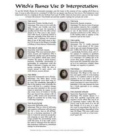 Witch's Runes set of 8 Witch Symbols, Rune Symbols, Viking Symbols, Viking Runes, Mayan Symbols, Egyptian Symbols, Ancient Symbols, Witchcraft Symbols, Wicca Runes
