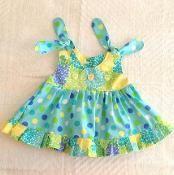 Mia Ruffled Dress/Top Sewing Pattern - via @Craftsy