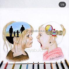 Sad Art, Political Cartoons, Cute Kids, Amazing Art, Art Reference, Illustration Art, Nerd, Sketches, Bible
