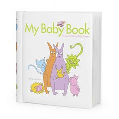 Fill & Tell My Baby Book: My Baby Book by Fill and Tell is a modern memory book where the parents tell the story of their child, from when they themselves first met until the child is 5 years old.  Designed to inspire and guide the writer, to become an album the child will want to save throughout life!  A solid work book of high qulaity with plenty of space for thoughts and photographs and with plastic pockets for various keepsakes.  With its many colourful illustrations it is suitable for…