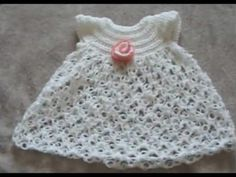 solomon knot baby dress- wonderfuldiy