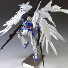 172.26$  Watch here - http://ali2dy.worldwells.pw/go.php?t=32633817470 - Brand GAOGAO XXXG-00W0 PG 1/60 Perfect Grade Wing Gundam Zero Mobile Suit assembly plastic Robot model kids Action Figure toys 172.26$