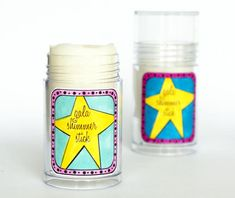 New Year's Beauty DIY - Gala Shimmer Stick Recipe with Printable Labels