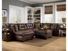 Frontier Living Room Sectional Sofa - Max Furniture