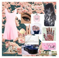 """""""babygirl."""" by where-the-wild-thing-are ❤ liked on Polyvore featuring Versace, Forever 21, Charlotte Tilbury, TONYMOLY, Victoria's Secret, 1928, Penny Loves Kenny, MICHAEL Michael Kors and MoMo"""